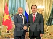 Vietnam-Russie: Entretien Trân Dai Quang - Vladimir Poutine
