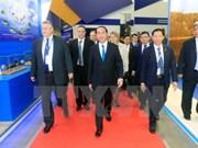 Le président Tran Dai Quang termine sa visite officielle en Russie