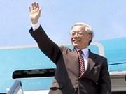 La presse cambodgienne informe de la visite d'État au Cambodge du leader du PCV