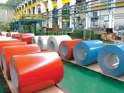 Neuf entreprises exemptes de droits pour les importations de tôles colorées