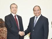 Le PM souligne l'importance de la coopération entre le Vietnam et Tokyo Gas