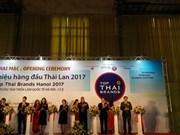 Les grandes marques thaïlandaises s'exposent à Hanoï