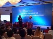 La révolution industrielle 4.0 va doper les exportations vietnamiennes