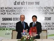 Le Vietnam et l'Australie coopèrent dans la recherche agricole