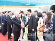 Le leader du PCV au Myanmar pour bâtir un cadre des liens dans la nouvelle période