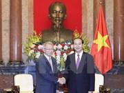 Le président Tran Dai Quang reçoit le président de la Cour suprême sud-coréenne