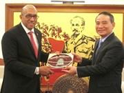 Pour les relations vietnamo-cubaines en plein essor