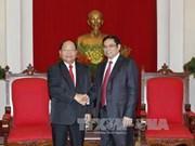 Le Vietnam affirme soutenir l'œuvre de rénovation du Laos