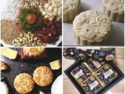 Les gâteaux de lune faits maison dans l'air du temps