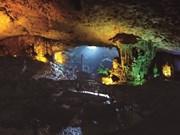 """Dâu Gô, la """"grotte des merveilles"""" dans la baie de Ha Long"""