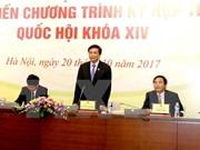 Quatrième session de la 14e législature de l'AN sera ouverte le 23 octobre