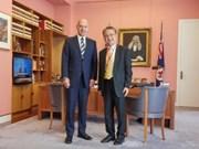 L'Australie souhaite renforcer la coopération parlementaire avec le Vietnam