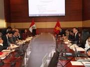 La première réunion du Comité intergouvernemental Pérou-Vietnam