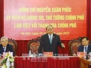 Le PM assigne des tâches à l'Inspection gouvernementale