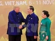 Dîner de gala pour célébrer la réunion des dirigeants économiques de l'APEC 2017