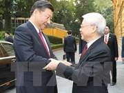 Vietnam-Chine : Entretien entre Nguyên Phu Trong et Xi Jinping