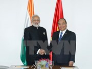 Vietnam-Inde : entrevue entre les deux PM Nguyên Xuân Phuc et Narendra Modi