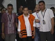 Le président du Parlement indonésien Setya Novanto arrêté par la KPK
