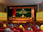 Clôture du 8ème Congrès national de l'Eglise bouddhique du Vietnam
