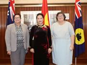 La présidente de l'Assemblée nationale en Australie-Occidentale