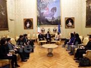 Vietnam et Italie renforcent leurs relations législatives