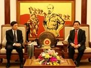 La R. de Corée s'intéresse à l'amélioration de l'infrastructure de transport au Vietnam