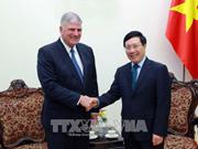 Le vice-PM Pham Binh Minh reçoit le président de SPIR