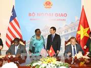 Pour promouvoir les relations de coopération Vietnam-Libéria