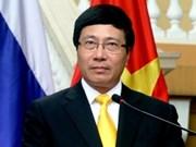 Le vice-PM Pham Binh Minh participera à la 3e conférence ministérielle Mékong - Lancang