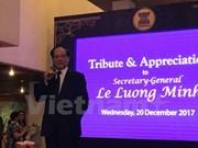 Lê Luong Minh confiant dans le développement de l'ASEAN