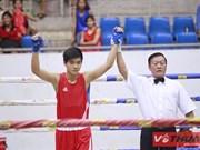 Dô Hông Ngoc, jeune prodige de la boxe vietnamienne