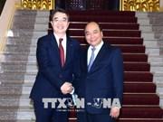 Le PM reçoit le directeur général de Doosan Vina