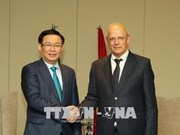 Le vice-PM Vuong Dinh Huê dialogue avec les entreprises portugaises