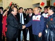 Le PM Nguyên Xuân Phuc : «une joie tellement immense»