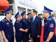 Le président Trân Dai Quang travaille à Bà Ria-Vung Tàu et Binh Duong