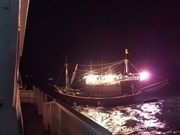 Un pêcheur vietnamien en détresse sauvé par les autorités chinoises