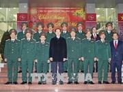 Le président Tran Dai Quang adresse ses voeux du Têt à plusieurs organes