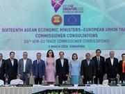 L'ALE entre l'ASEAN et l'UE devrait être approuvé d'ici la fin de l'année