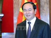 Le président Tran Dai Quang part pour l'Inde