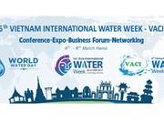 Hanoi accueillera la Semaine internationale de l'eau du Vietnam