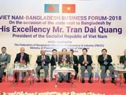 Le président Trân Dai Quang achève sa visite d'Etat au Bangladesh