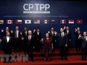 Signature officielle de l'accord trans-Pacifique CPTPP au Chili