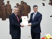Hanif Salim assume le poste de consul général d'Indonésie à HCM-Ville