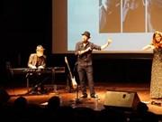 Les liens, premier concert du chanteur français Kwal à Hanoï