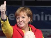 Le PM félicite la chancelière allemande Angela Merkel pour sa réélection