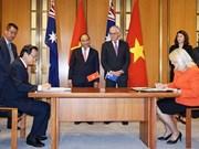 Le Vietnam et l'Australie signent un mémorandum dans la formation professionnelle