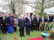 Le leader du PCV Nguyên Phu Trong commence sa visite officielle en France