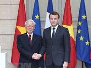 Le Vietnam et la France publient une déclaration commune