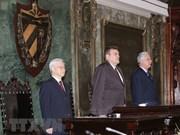 Cuba décerne le titre docteur honoris causa en science politique au leader du PCV