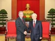 """Cuba chérit sa """"relation limpide, fidèle et exemplaire"""" avec le Vietnam"""